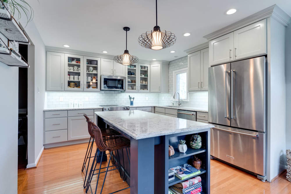 Transitional Kitchen Design Springfield, VA